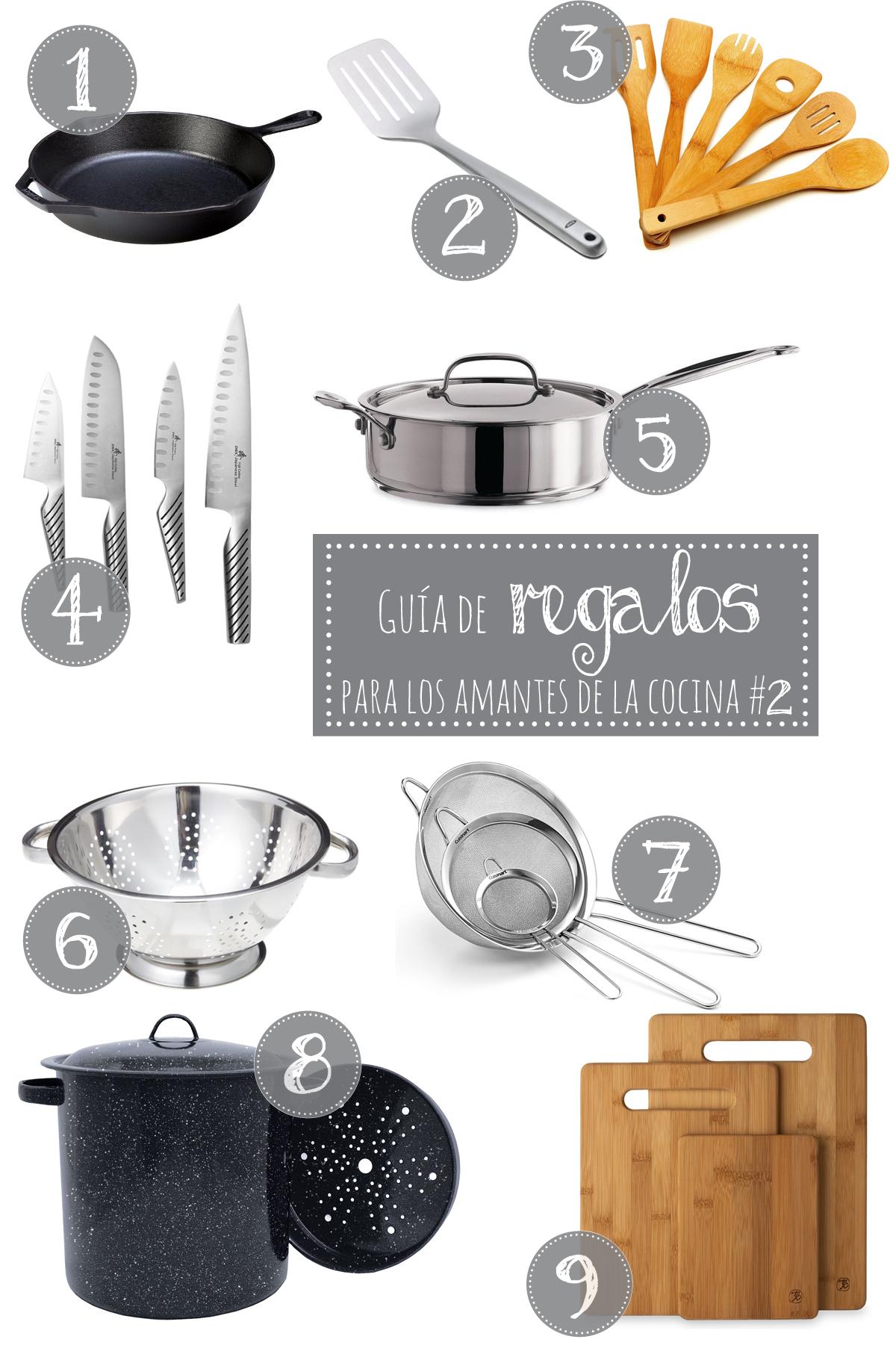 Guia de regalos para los amantes de la cocina 2 the for Guia mecanica de cocina pdf